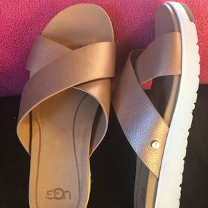 UGG LEATHER SANDALS